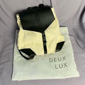 Deux Lux Vegan Leather / Canvas Demi Backpack
